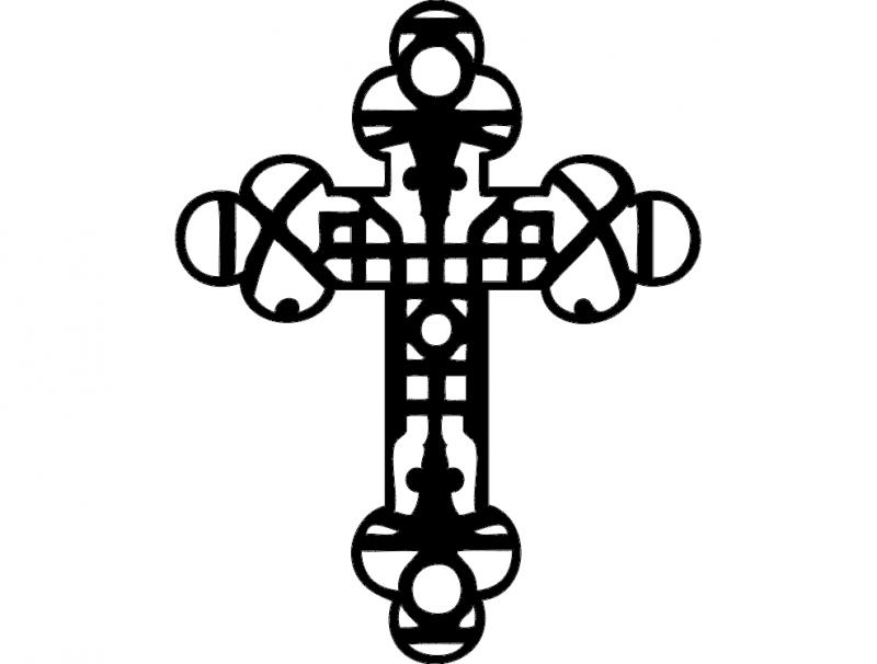 cross-33 dxf File