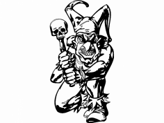 Clown 014 Bw dxf File