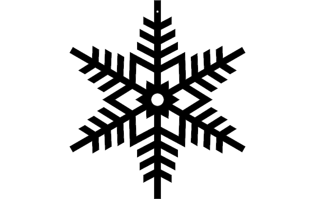 Design Snowflake 7 dxf File