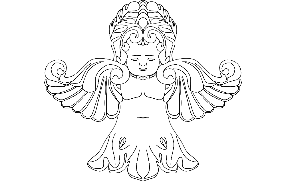 Fairy dxf File