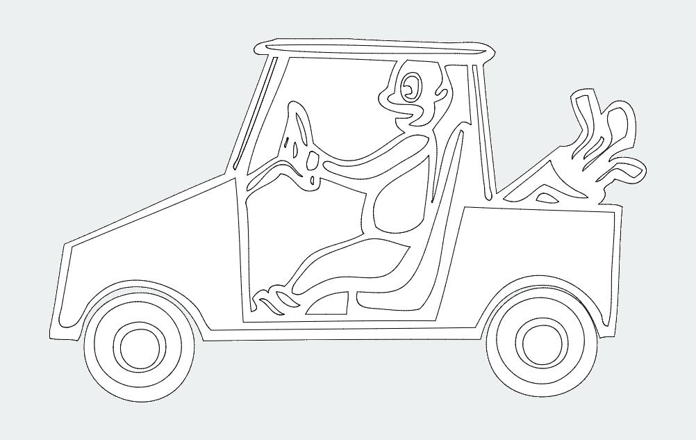 Golf-cart 00 1 dxf File