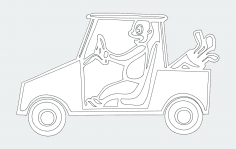 Golf-cart 00 1 dxf File
