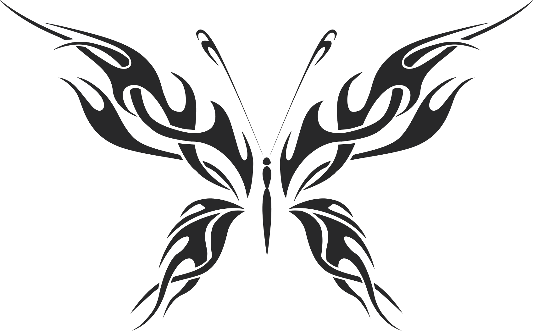 Butterfly Vector Art 010 Free Vector