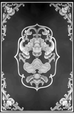 Grayscale 3D Model Relief for CNC BMP File