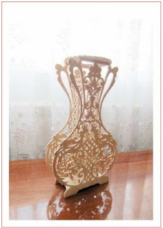 Decorative Vase Scroll Saw Pattern Plans PDF File
