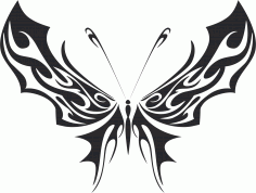 Butterfly Vector Art 035 Free Vector