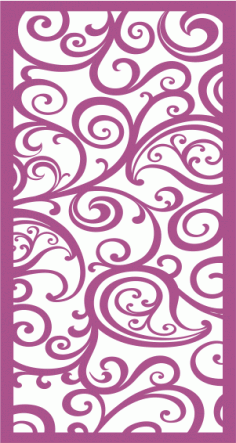 Laser Cut Vector Panel Seamless 223 Free Vector
