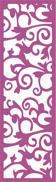 Laser Cut Vector Panel Seamless 171 CDR File
