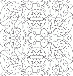 Islamic Pattern DWG File