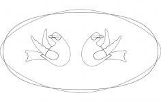 Double Dove dxf File