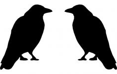 Crow dxf File