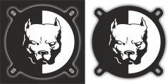 Pitbull Logo Free Vector