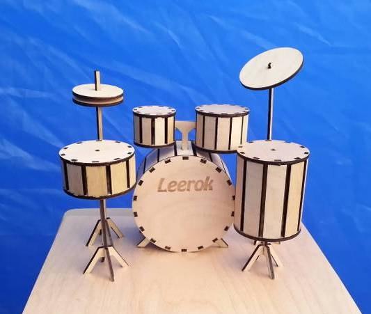 Drum Kit DXF File