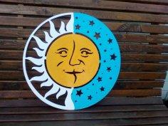 Sun Laser Cut