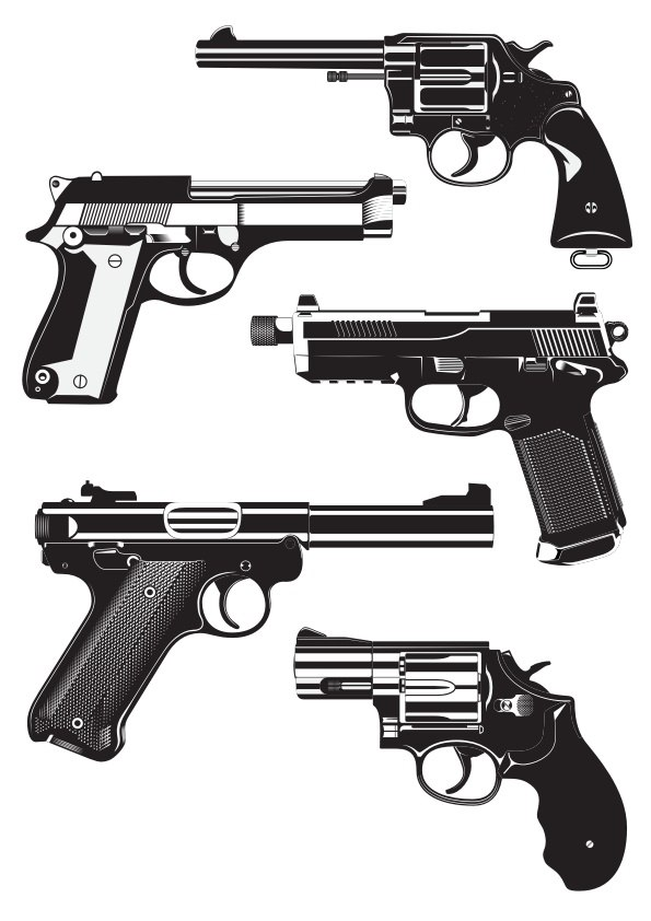 Guns Free Vector