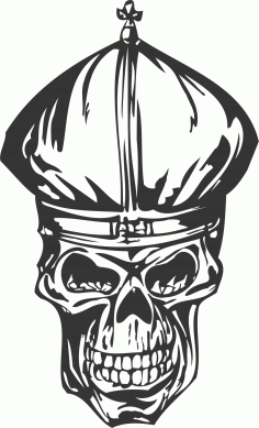 Cool Skull DXF File