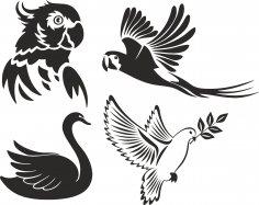 Birds Stencils