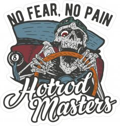 Hotrod Master Sticker CDR File