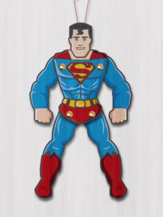 Superman Paper Puppet CDR File