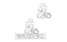 Welder Welding dxf File