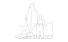 Halibut dxf File