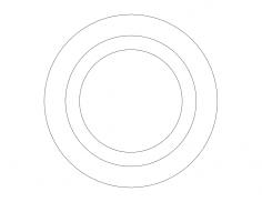 3d Circs dxf File