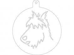 Wire fox terr dxf File