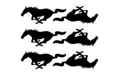 Pony dxf File