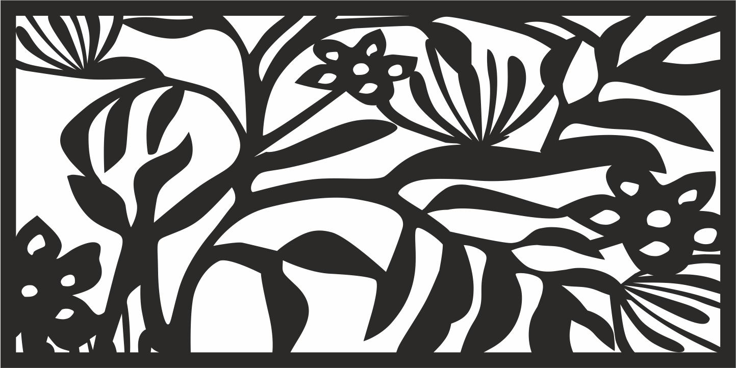 Grills Vector Floral CDR File