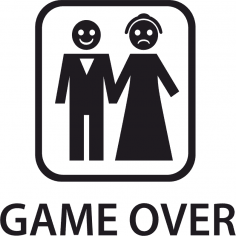 Game Over Sticker Vector Free Vector