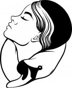Beauty women face vector Art jpg Image