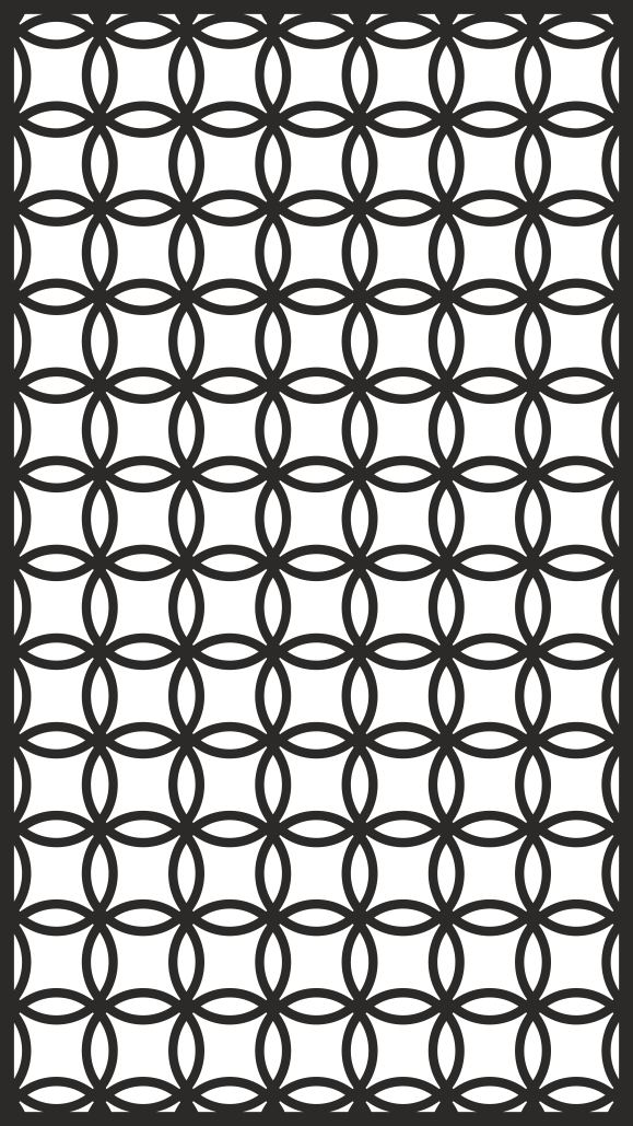 Decorative Screen Panel CDR File