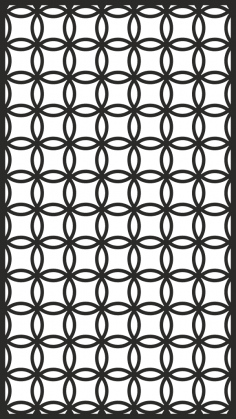 Decorative Screen Panel Free Vector