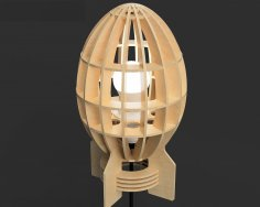 Laser Cut Bomb Lamp Free Vector