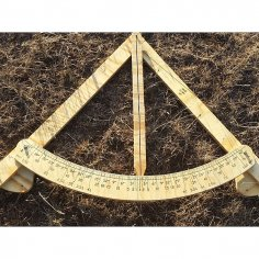 Gauge Frame Level 6ft Standard DXF File