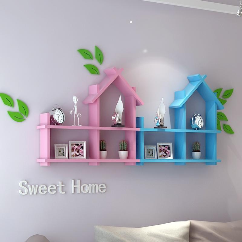 Laser Cut Shelf for Kids Room Template Free Vector
