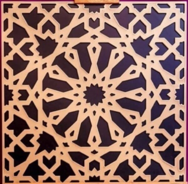 Laser Cut Decor Pattern Free Vector