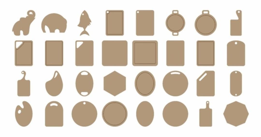 Laser Cut Cutting Board Designs Free Vector