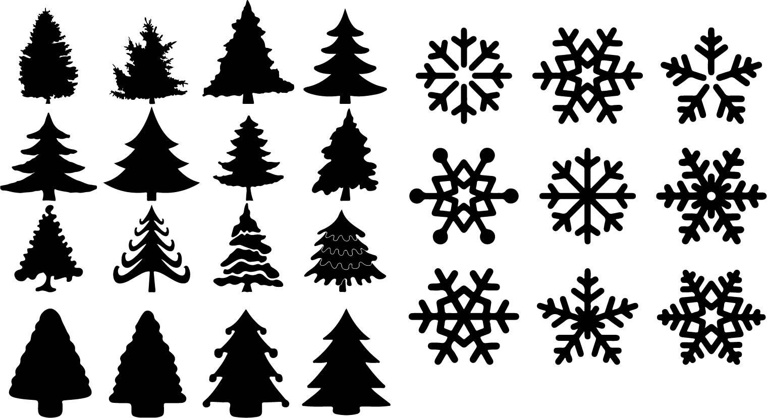 Beautiful Seamless Merry Christmas Free Vector