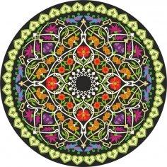 Plant Circle Vector Graphics Free Vector