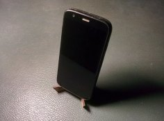 Lasercut Phone Stand DXF File