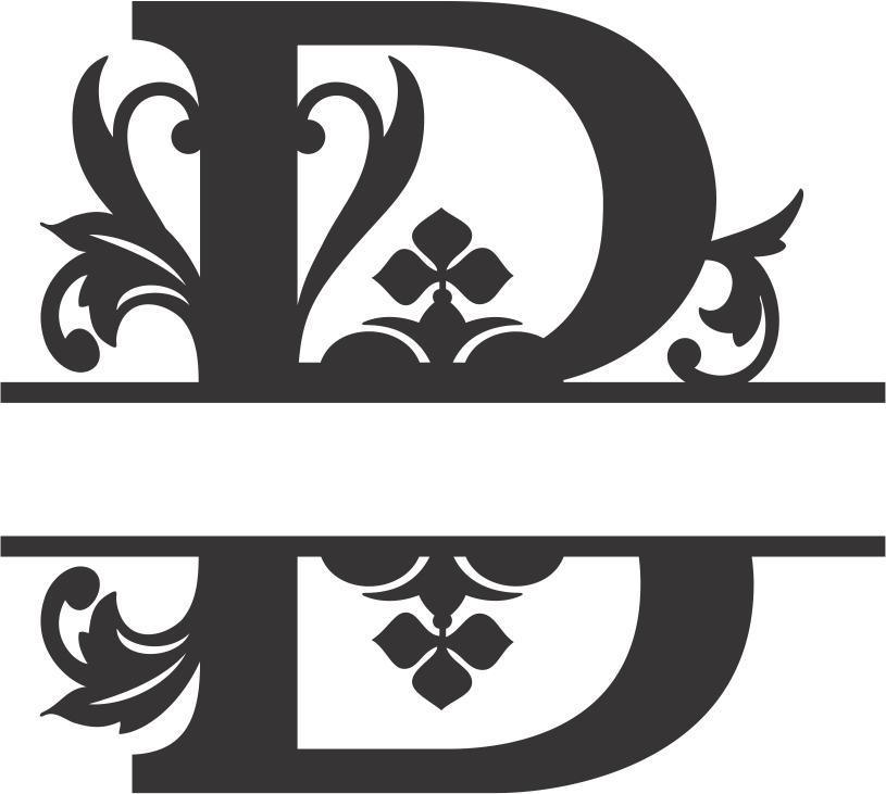 Regal Split Font B DXF File