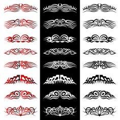 Tribal Tattoo Vectors EPS File