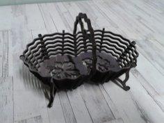 Laser Cut Candy Basket Free Vector