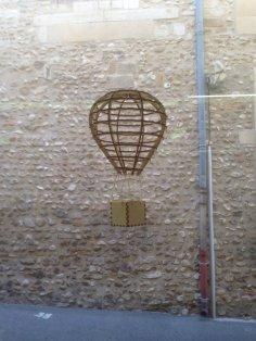 Laser Cut Air Balloon Template Free Vector