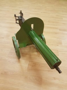 Laser Cut Maxim Machine Gun Free Vector