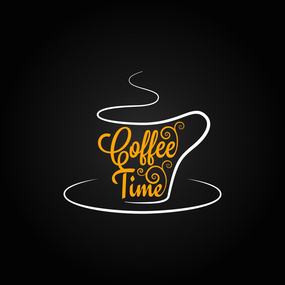 Cafe Logo Sablonu 4 EPS File