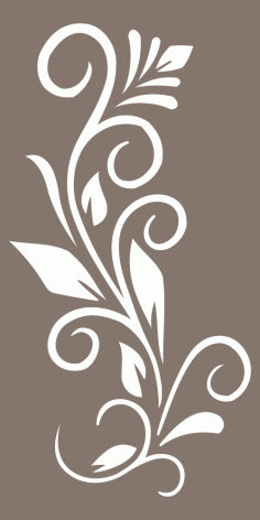 Decorative Privacy Screen Panel Free Vector
