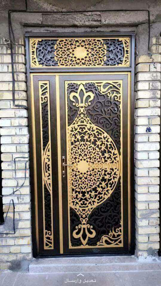 Decorative Single Door Design DXF File