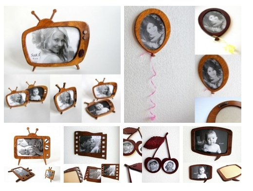 Laser cut Fancy Photo Frame Templates Free Vector